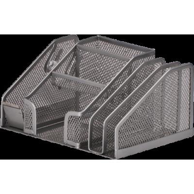 Прибор настольный 210x150x100мм металл серебро (BM.6241-24)
