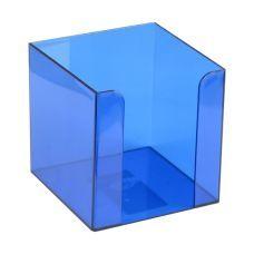Куб для бумаги 90x90x90мм синий