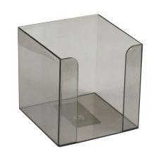 Куб для бумаги 90x90x90мм дымчатый