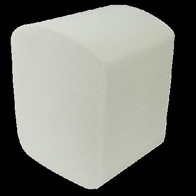 Бумага туалетная листовая 2-х слойная 150шт. белый BUROCLEAN (10100012)