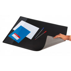 Подкладка для письма (652x512мм PVC) черная