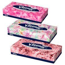 Салфетки в коробке Kleenex 70 шт