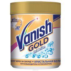 Пятновыводитель-отбеливатель Vanish oxi action gold порошок