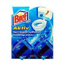 Средство для туалета кубик 2х50 BREF АКТИВ