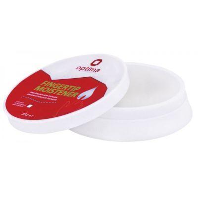 Увлажнитель для пальцев Optima гелевый белый 20г (O41510)