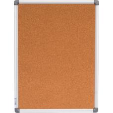 Доска пробковая 45x60см алюминиевая рамка