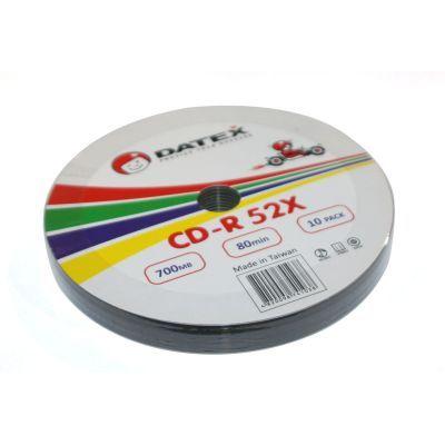 Диск DATEX CD-R 700Mb 52x Bulk 10 pcs (5953821)