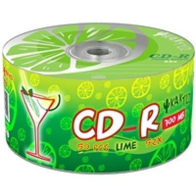 Диск KAKTUZ CD-R 700Mb 52x Bulk 50 pcs LIME (5498896)