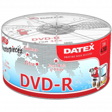 Диск DATEX DVD-R 4,7Gb 16x Bulk 100 pcs