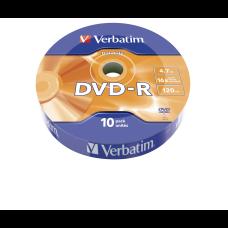 Диск VERBATIM DVD-R 4,7Gb 16x Cake 10 pcs