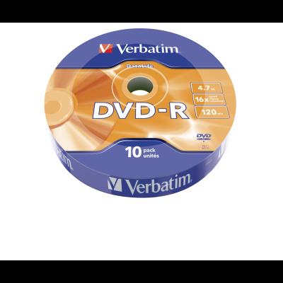 Диск VERBATIM DVD-R 4,7Gb 16x Cake 10 pcs (3205710)