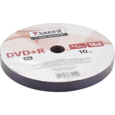 Диск DVD+R 47GB/120min 16X bulk-10 (8121-A)