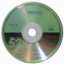 Диск ARENA CD-R 700Mb 52x Bulk 50 pcs