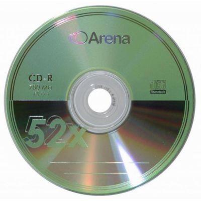 Диск ARENA CD-R 700Mb 52x Bulk 50 pcs (5434791)