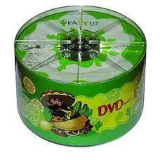 Диск KAKTUZ DVD-R 4,7Gb 8-16x Bulk 50 pcs
