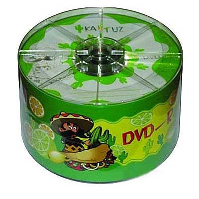 Диск KAKTUZ DVD-R 4,7Gb 8-16x Bulk 50 pcs (5690435)