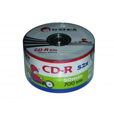 Диск DATEX CD-R 700Mb 52x Bulk 50 pcs (3192500)