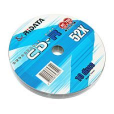 Диск RIDATA CD-R 700Mb 52x Bulk 10 pcs