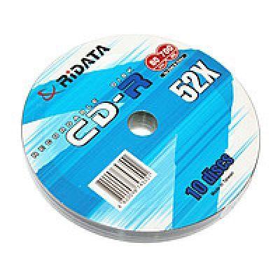 Диск RIDATA CD-R 700Mb 52x Bulk 10 pcs (5859801)