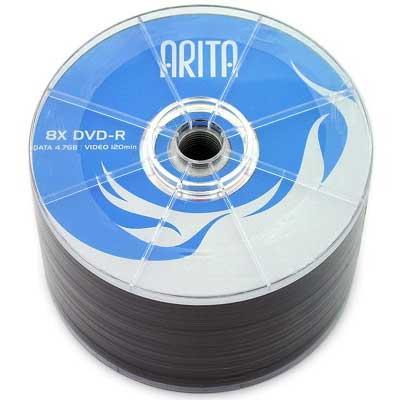 Диск ARITA DVD-R 4,7Gb 8-16x Bulk 50 pcs (5646914)