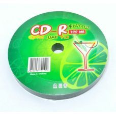 Диск KAKTUZ CD-R 700Mb 52x Bulk 10 pcs LIME