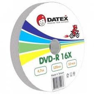 Диск DATEX DVD-R 4,7Gb 16x Bulk 10 pcs (5949273)