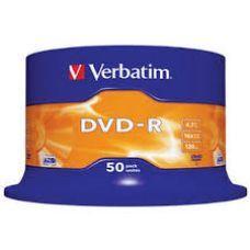 Диск VERBATIM DVD-R 4,7Gb 16x Cake 50 pcs