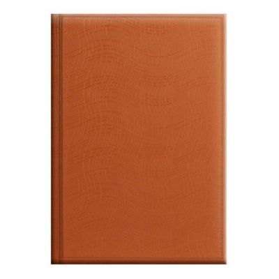 Ежедневник недатированный Агенда Wave оранжевый (73-796 76 40)