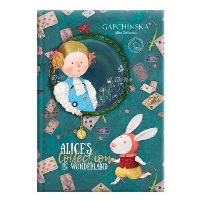 Ежедневник недатированный Агенда GP Alice`s collection бирюзовый (73-796 68 22)