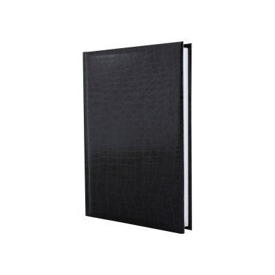 Ежедневник недатированный А5 Croco черный (E21718-01)