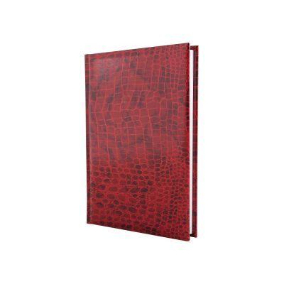 Ежедневник недатированный А5 Croco красный (E21718-03)