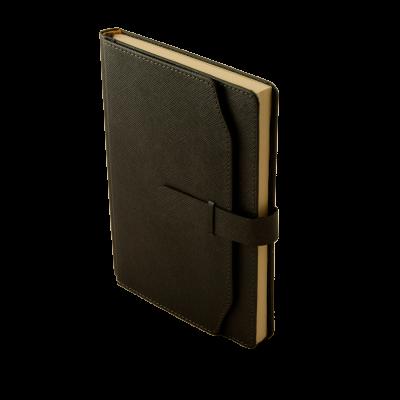 Ежедневник недатированный CREDO A5 черный (BM.2017-01)