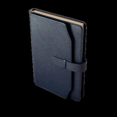 Ежедневник недатированный CREDO A5 синий (BM.2017-02)