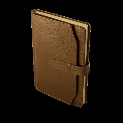 Ежедневник недатированный CREDO A5 коричневый (BM.2017-25)