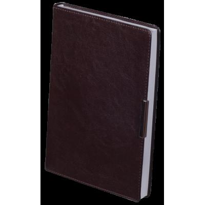 Ежедневник недатированный SALERNO A5 коричневый (BM.2026-25)