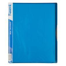 Папка А4 на 40 файлов голубой