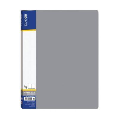Папка А4 на 30 файлов Economix серый (E30603-10)