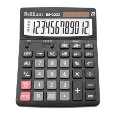 Калькулятор BS-2222 12 разрядов 2-питание