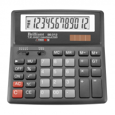Калькулятор BS-312 12 разрядов 2-питание