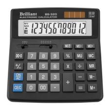 Калькулятор BS-320 12 разрядов 2-питание