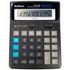 Калькулятор BS-999 16 разрядов 2-питание