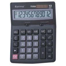 Калькулятор настольный Optima 12 разрядов размер 143*94*29мм