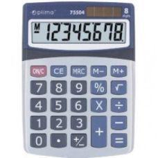 Калькулятор настольный Optima 8 разрядов размер 160*118*41мм
