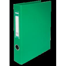 Папка на кольцах А4 4D-кольца 40мм PP зеленый