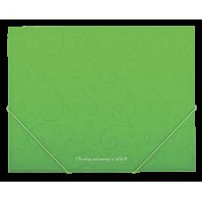 Папка на резинках А5 Barocco салатовый