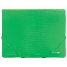 Папка на резинках А4 Economix фактура бриллиант зеленый