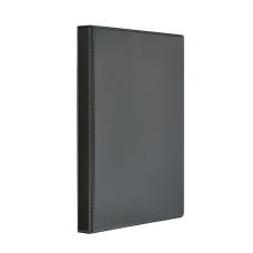 Папка-регистратор Панорама рекламный А4 4 кольца 25мм PVC черный