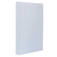 Папка-регистратор Панорама рекламный А4 4D-кольца 40мм PVC белый