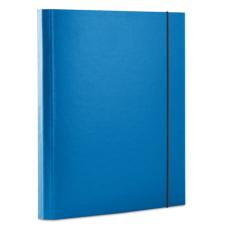 Папка-бокс А4 40мм синяя