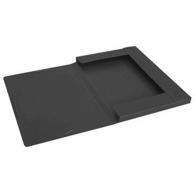 Папка-бокс А4 на гумках Economix 20мм черная (E31401-01)